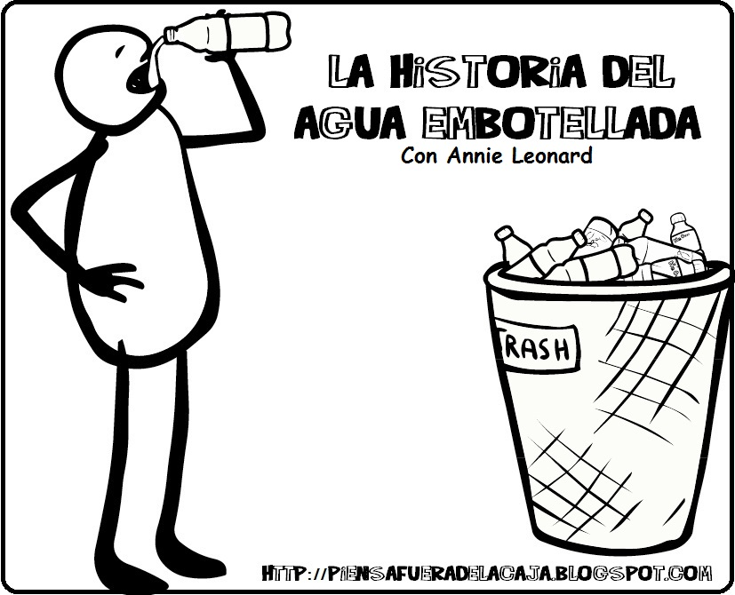 Historia del agua de botella